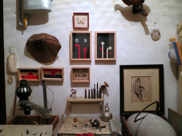 Collection at the artists home (2013)