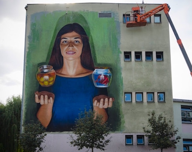 Allegory of Peace and War, Sarajevo (2015)