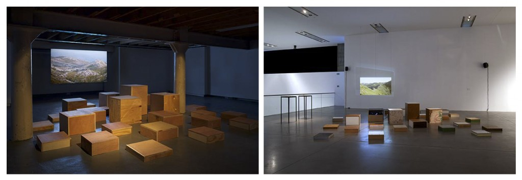 Installation View with Alter of the Homeland - 2012